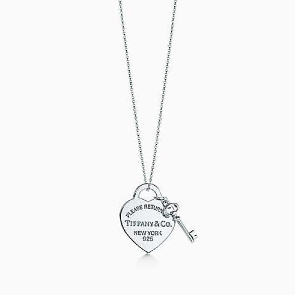 Tiffany Co Jewelry Tiffany Co Lock And Key Necklace Poshmark